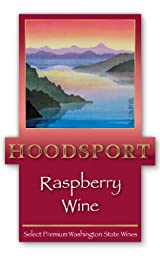 NV Hoodsport Raspberry Wine 750 mL