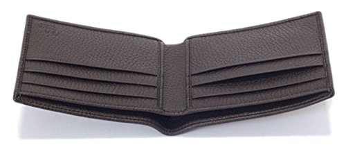52b157abc16 Gucci Original GG Canvas Leather Men s Bifold Wallet 260987 9903 ...
