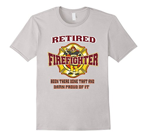 Men's Retired Firefighter Gift For Fireman Fire Fighter T-shirt