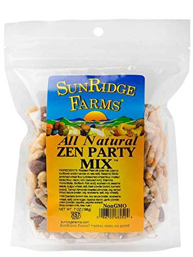 - SunRidge Farms Zen Party Mix NonGMO Verified, 7 Ounce Bag (Pack of 12)
