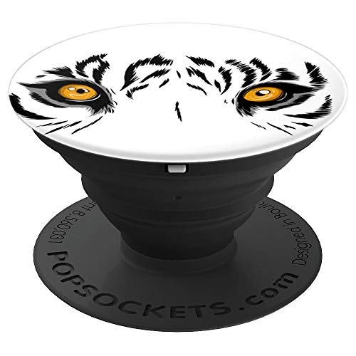 Bengal Tiger Beautiful - Beautiful Bengal Tiger wild cat Amurtiger - PopSockets Grip and Stand for Phones and Tablets