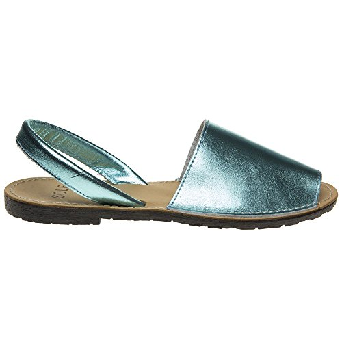 Metallic Toucan Femme Sole Metallic Sandales wYBXqp