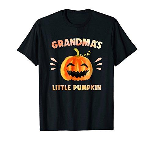 Grandma's Little Pumpkin Costume T-Shirt Infants (Dead Grandma Halloween)