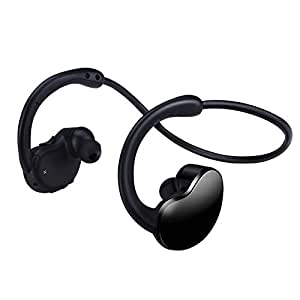 wireless bluetooth stereo sports headset with microphone by proxelle cell phones. Black Bedroom Furniture Sets. Home Design Ideas