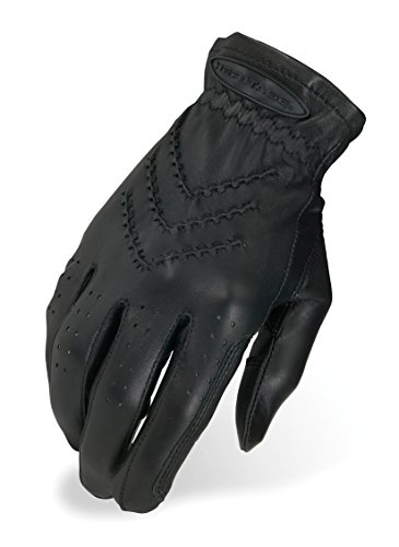 Heritage Traditional Show Gloves, Size 7, Black - Heritage Competition Gloves