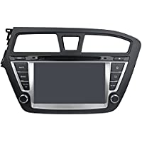 8 Android 6.0 Otca Quad Auto Radio DVD Player GPS Navi For Hyundai I20 2014-2015 With Car Stereo Radio WIFI Bluetooth Steering Wheel Control