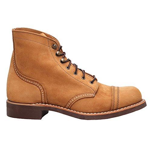 Red Wing Womens Iron Ranger 3367 Honey Nubuck Boots 9.5 US