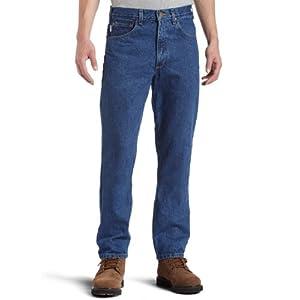 Carhartt Men's Five Pocket Tapered Leg Jean 19