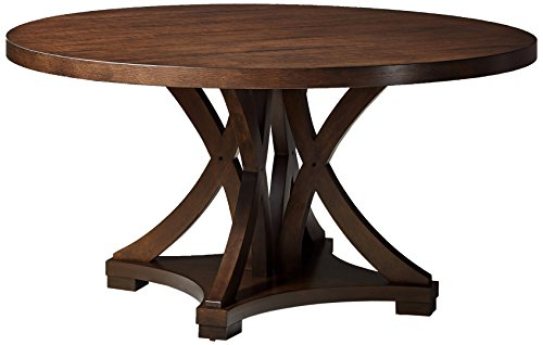Collection Hardwood Dining Room Server (Furniture At Home Selwyn Collection Round Dining Table, Antique Brown)