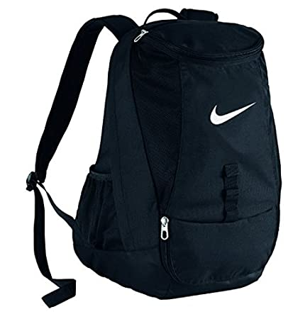 Amazon.com  Nike Club Team Swoosh Backpack Black White Size One Size   Clothing 01bcf034f7