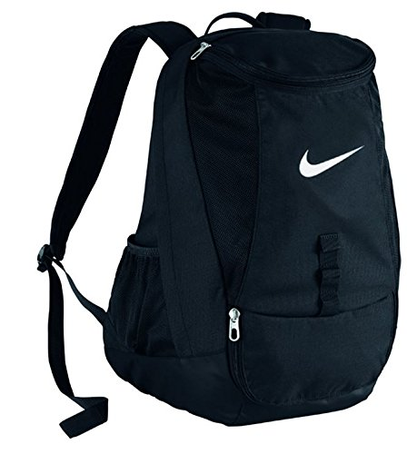 Club Soccer (Nike Club Team Swoosh Backpack Black/White Size One Size)