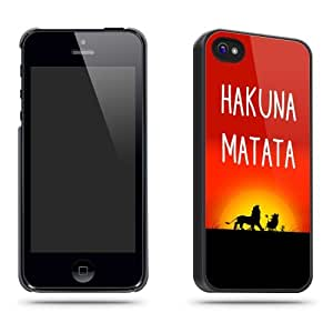 Hakuna Matata Sunset Quote Phone Case Shell for iPhone 5 / 5s by supermalls