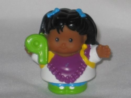 Fisher Price Little People Number Kids Time To Learn Preschool Counting Kids Play Set TAN GIRL, #9 2006