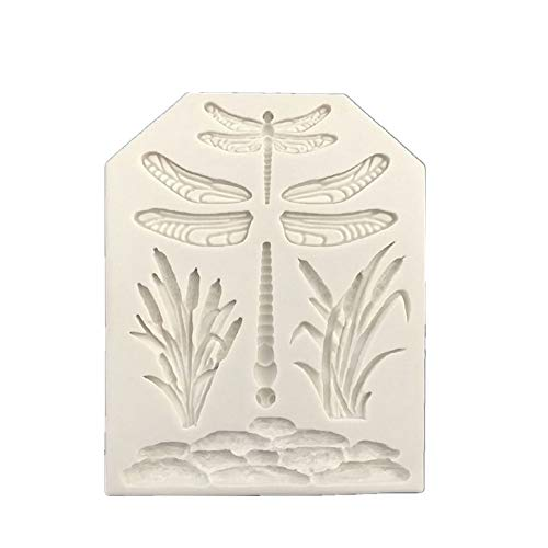 Dragonfly Silicone Fondant Mold Cake Candy Mold Chocolate Baking Tools Cupcake Topper Decoration