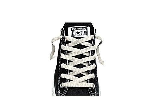 Converse 54 Inch Flat High Top Shoelaces White (Girls White Converse High Tops)