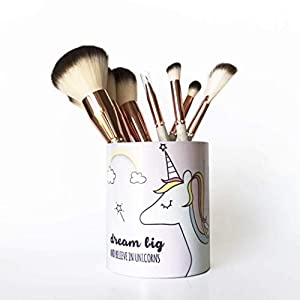 Dream Big Unicorn Pencil Cup/Pencil Holder/Makeup Storage