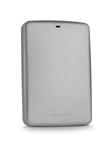Toshiba Canvio Basics 2TB Portable Hard Drive- Silver (HDTB320XS3CA)