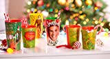 American Greetings Plastic Christmas Cups, Buddy