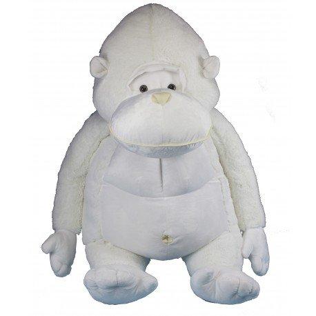 Gorila de peluche 120cm, negro o blanco, hecho en España: Amazon.es: Juguetes y juegos