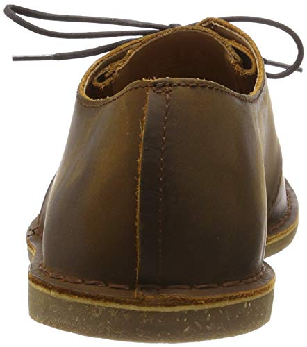 Leather Baltimore beeswax Clarks Scarpe Derby Uomo Stringate Lace Marrone 8wdq0x4dH