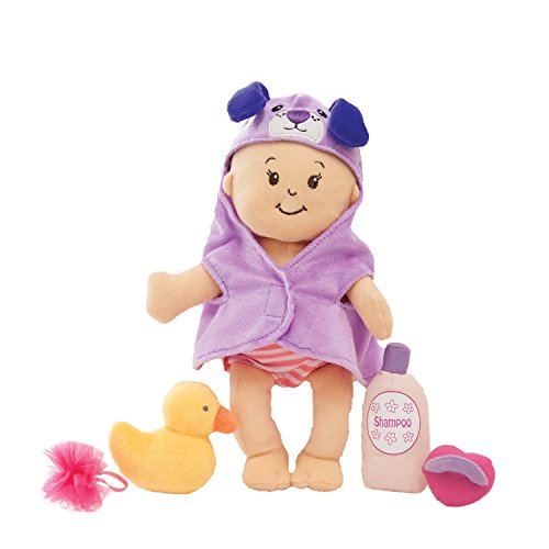 "Manhattan Toy Wee Baby Stella 12"" Soft Baby Doll and Bathing Set"