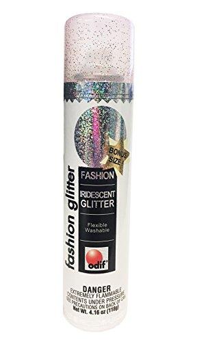 Iridescent Spray Paint (Odif Iridescent Fashion Glitter Spray)