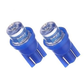 T10B - Azul SMD LED lámpara bombilla de repuesto luces de posición W5W T10 12V Numero