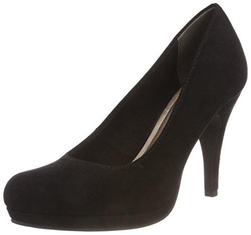 Tamaris Closed 22407 Black Black Flats Toe 864 Navy BAU Ballet 001 Glam WoMen wBrqwnO1
