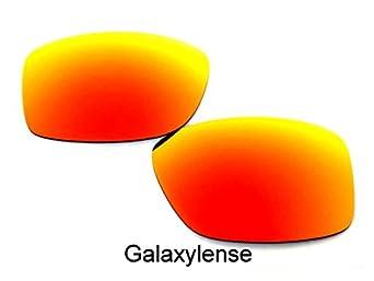 Galaxy Lentes De Repuesto Para Oakley Jupiter Squared Rojo Polarizados, LIBRE S & H - Transparente, regular: Amazon.es: Ropa y accesorios