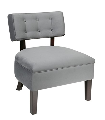 Wood Back Upholstered Chair - 7