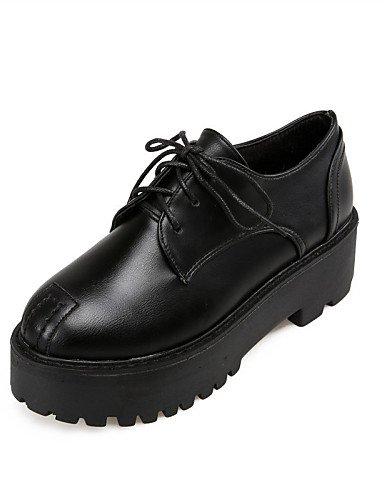 Arrondi Silver Femme 5 Chaussures Njx Fermé Bordeaux Bout amp; Bureau Eu37 Talons us6 Cn37 5 Argent Noir Décontracté Uk4 Plateforme Travail Habillé 7 2016 5 AaxnxqwBO