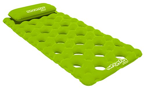 - SUN COMFORT COOL SUEDE Pool Mattress, Lime