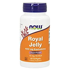 Now Supplements, Royal Jelly 1000 mg wit...