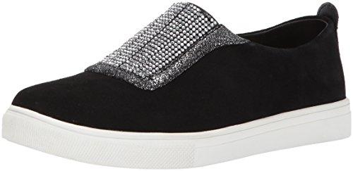 Skechers Donne Moda-moda Strass Vamp Sneaker Nero