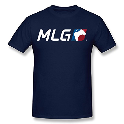 [Major League Gaming MLG ESports Logo Men's Cotton Large] (League Optic)