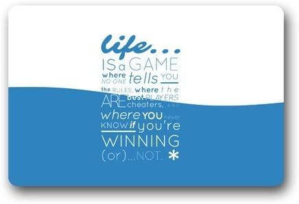 Amazoncom Funnylife Motto Of Life Quote Words Life Is A Game Words