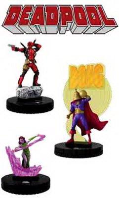 Marvel HeroClix: Deadpool Booster Brick (10)