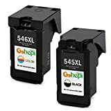 Gohepi Replacement for Canon PG-545XL CL-546XL Ink Cartridges PG545 CL546 Compatible for Canon Pixma MG2550 MG2550S TS3150 MX495 MG3050 MG3051 TR4550 TS3151 TS205 TS305 TR4551 (1 Black, 1 Color)