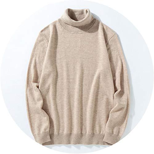 Sweater Men 2018 Winter Thick Warm 100% Merino