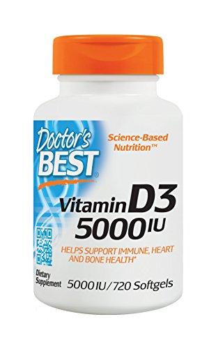 Doctors Best Vitamin 5000 Count