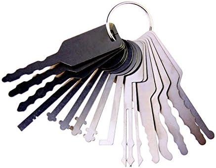Dbh coche Jiggler juego de ganzúas, llave maestra para Auto, coche ...