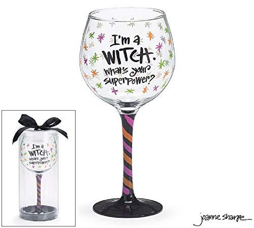Burton and Burton Halloween Wine Glass I