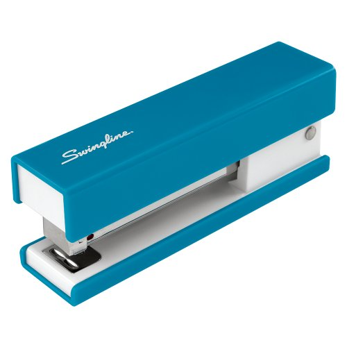 Swingline Fashion Stapler, Solid Color, Blue