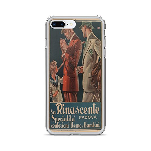 Vintage poster - La Rinascente 0649 - iPhone 8 Plus Phone - La Rinascente