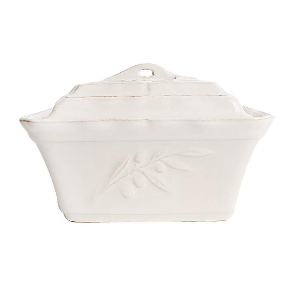 Costa Nova Alentejo Rectangular Casserole Dish with Lid, Fine Stoneware Porcelain Cookware Baker, Oven Safe, 9.8 x 7.0 x 6.9 inch, 1.5 Quart, White