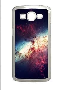 Samsung Galaxy Grand 2 Case - Nebula Pink Blue Explosion Custom Samsung Galaxy Grand 2 Case Cover - Polycarbonate - Transparent