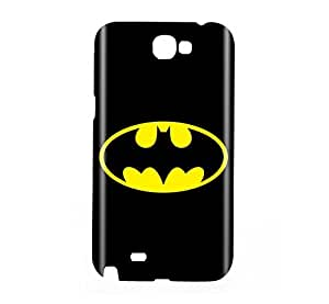 Batman the Dark Knight Snap on Plastic Case Cover Compatible with Samsung Galaxy Note II 2