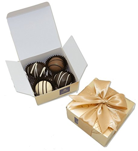 Leonidas Party Favors: 20 x 4 Piece Gold - Chocolates Assorted Leonidas