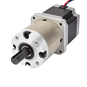 15:1 Planetary Gearbox Nema 23 Stepper Motor 2.8A for DIY CNC Mill Lathe Router from OSM Technology Co.,Ltd.