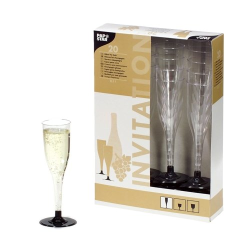 14 stem glasses for sparkling wine,